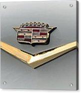 Gold Badge Cadillac Acrylic Print