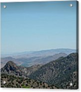 Gold In The Hills Virginia City Nv Acrylic Print