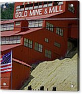 Gold In Them Thar Hills Acrylic Print