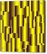 Gold Pattern B   Acrylic Print