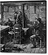 Gold Rush: Miners, 1887 Acrylic Print