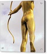 Golden Archer Acrylic Print
