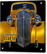 Golden Chevrolet Acrylic Print