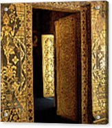 Golden Doorway 2 Acrylic Print