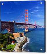 Golden Gate Bridge 1. Acrylic Print