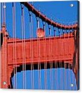 Golden Gate Bridge Summit Acrylic Print