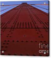 Golden Gate Bridge Vertical Acrylic Print