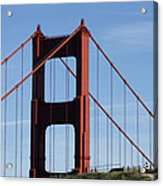 Golden Gate North Tower Acrylic Print