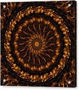Golden Mandala 1 Acrylic Print