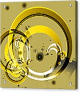 Golden Rings Acrylic Print