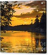 Golden San Juan Acrylic Print
