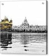 Golden Temple India Acrylic Print