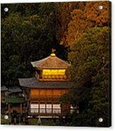 Golden Temple Acrylic Print