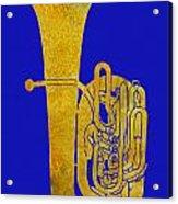 Golden Tuba Acrylic Print