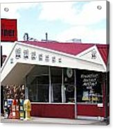Goldie's Route 66 Diner  Acrylic Print