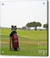 Golf Bag Acrylic Print