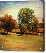 Golf Course II Acrylic Print