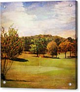 Golf Course IIi Acrylic Print
