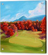 Golf Course In The Fall 2 Acrylic Print