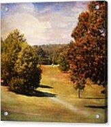 Golf Course Iv Acrylic Print