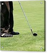 Golf Feet Acrylic Print