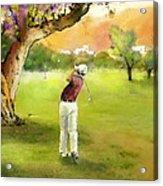 Golf In Spain Castello Masters  04 Acrylic Print