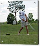 Golf Swing Acrylic Print