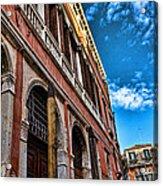 Gondola View Acrylic Print
