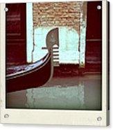 Gondola.venice.italy Acrylic Print