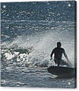 Gone Surfing Acrylic Print