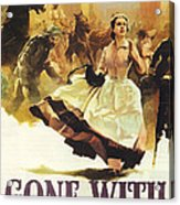 Gone With The Wind Acrylic Print