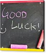 Good Luck Acrylic Print by Tom Gowanlock