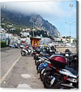 Good Morning Capri Acrylic Print by Joyce Hutchinson