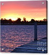 Good Morning From Marysville Michigan Usa Acrylic Print