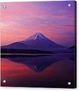 Good Morning Mt Fuji Acrylic Print