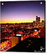 Good Night Mile High Acrylic Print