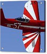 Goodyear F2g-1 Corsair Nx5588n Race 57 Cactus Fly-in March 3 2012 Acrylic Print