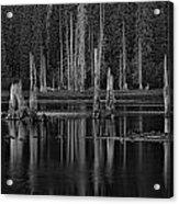 Goose Lake Dusk Acrylic Print