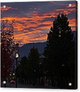 Gorgeous Sunrise On G Street Acrylic Print