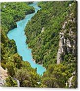 Gorges Du Verdon Acrylic Print