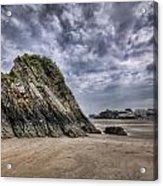 Goscar Rock Tenby 2 Acrylic Print