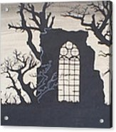 Gothic Landscape Acrylic Print by Silvie Kendall