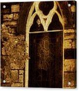 Gothic Window Acrylic Print