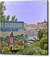 Grad Dubrovnik Acrylic Print