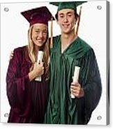 Graduation Couple Iv Acrylic Print