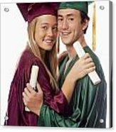 Graduation Couple Acrylic Print