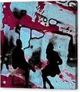 Graffiti - Urban Art Serigrafia Acrylic Print