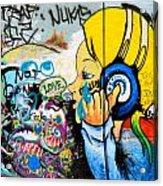 Graffiti Jammin' Acrylic Print