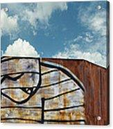 Graffiti Monster Acrylic Print