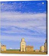 Grain Elevators, Mossleigh, Alberta Acrylic Print